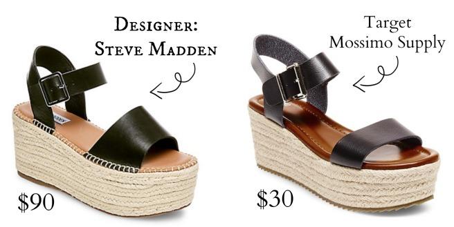 43e0c5a05e6 Steve Madden Cabo Espadrille Sandals   Nonie Metallic Flatform Espadrille